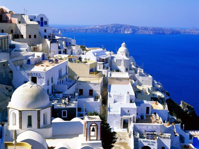 The Beautiful Greek Island of Santorini